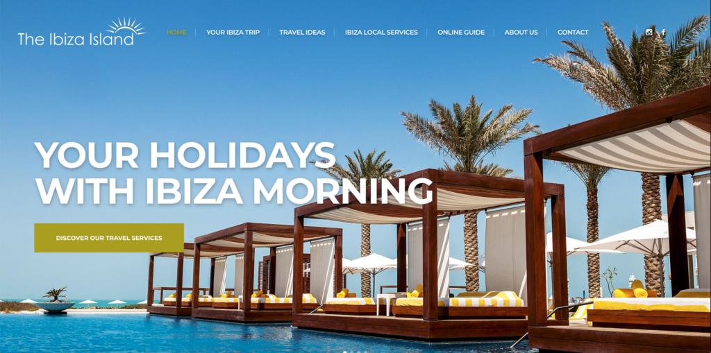 The <strong>Ibiza Island</strong>